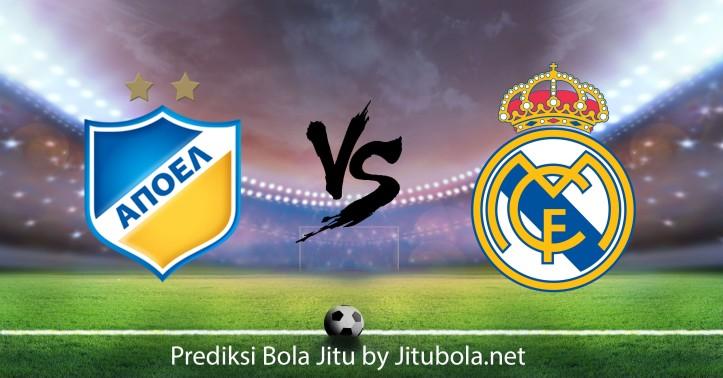 Prediksi bola jitu APOEL Nicosia VS Real Madrid