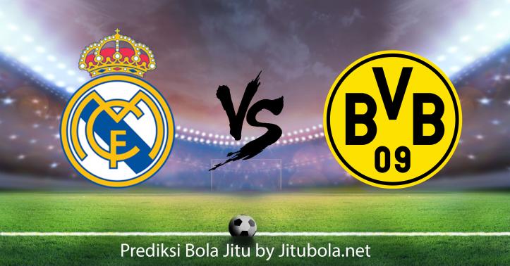 Prediksi bola Real Madrid vs Borussia Dortmund